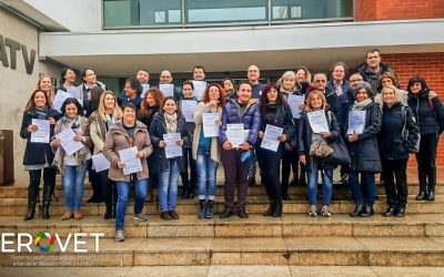 Portugal hosts the second transnational meeting of the European EROVET project