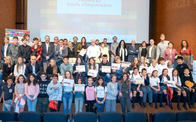 """Prizes for promoting entrepreneurial spirit """"E2, Entrepreneur School"""""""