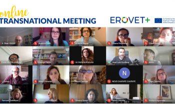 EROVET+ ONLINE TRANSNATIONAL MEETING